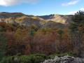 Vue sur les montagnes environnantes