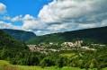 Vue sur Saint Claude