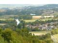 Vue sur Sauvigny et la Marne