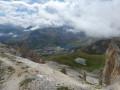L'Aiguille percée depuis Tignes-le Lac