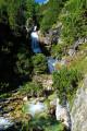 Vue sur une cascade