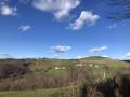 vue vers le nord près de la Croix de l'Orme