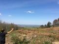 La transversale des trois cols (Monts du Lyonnais)
