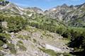 Zone de rochers et d'éboulis