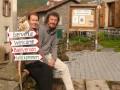 """Location : """"l'Abri du Jacquet""""; Sur le GR 65, voie du Puy en Velay vers Saint Jacques de Compostelle..."""